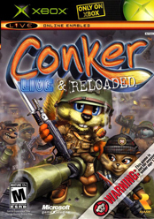 Conker: Live & Reloaded North American Cover Art