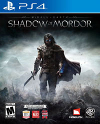 Middle-earth: Shadow of Mordor North American Cover Art
